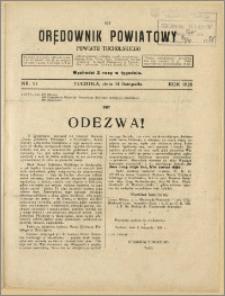 Orędownik Powiatowy Powiatu Tucholskiego 1928 Nr 91