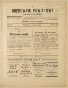 Orędownik Powiatowy Powiatu Tucholskiego 1928 Nr 97