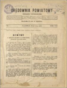 Orędownik Powiatowy Powiatu Tucholskiego 1929 Nr 1