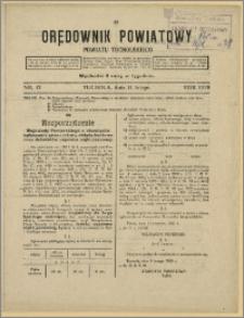 Orędownik Powiatowy Powiatu Tucholskiego 1929 Nr 12