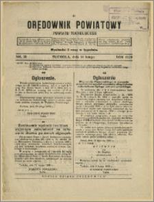 Orędownik Powiatowy Powiatu Tucholskiego 1929 Nr 13