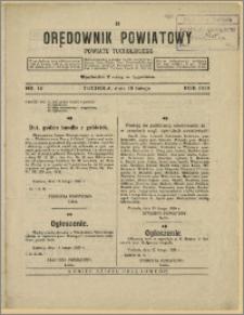 Orędownik Powiatowy Powiatu Tucholskiego 1929 Nr 14