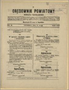 Orędownik Powiatowy Powiatu Tucholskiego 1929 Nr 16