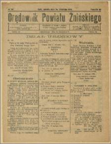 Orędownik Powiatu Żnińskiego 1929 Nr 30