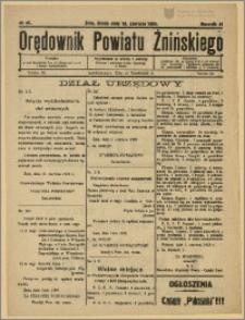 Orędownik Powiatu Żnińskiego 1929 Nr 41