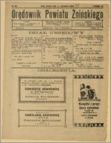 Orędownik Powiatu Żnińskiego 1929 Nr 62