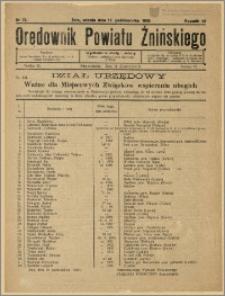 Orędownik Powiatu Żnińskiego 1929 Nr 73