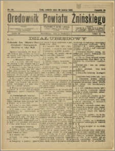 Orędownik Powiatu Żnińskiego 1930 Nr 21