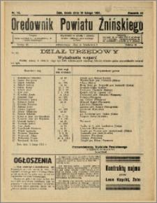 Orędownik Powiatu Żnińskiego 1931 Nr 12