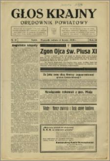 Głos Krajny 1939, Luty