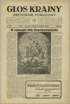 Głos Krajny 1939, Kwiecień