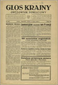 Głos Krajny 1939, Lipiec