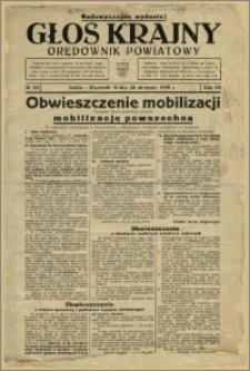 Głos Krajny 1939, Sierpień