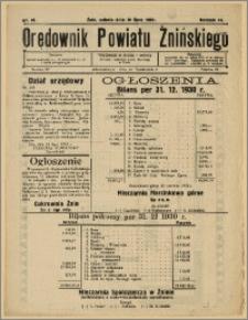 Orędownik Powiatu Żnińskiego 1931 Nr 46