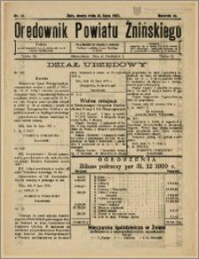 Orędownik Powiatu Żnińskiego 1931 Nr 47