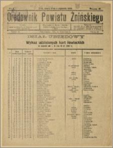 Orędownik Powiatu Żnińskiego 1932 Nr 1