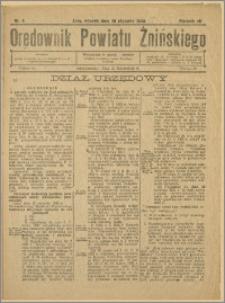 Orędownik Powiatu Żnińskiego 1932 Nr 4