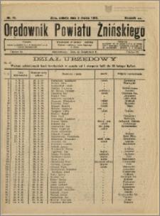 Orędownik Powiatu Żnińskiego 1932 Nr 11