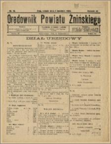 Orędownik Powiatu Żnińskiego 1932 Nr 16