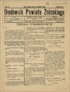 Orędownik Powiatu Żnińskiego 1932 Nr 17