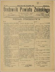 Orędownik Powiatu Żnińskiego 1932 Nr 18