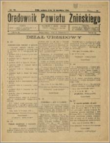 Orędownik Powiatu Żnińskiego 1932 Nr 19