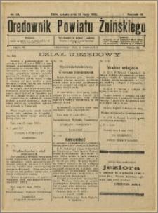 Orędownik Powiatu Żnińskiego 1932 Nr 24
