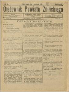 Orędownik Powiatu Żnińskiego 1932 Nr 25