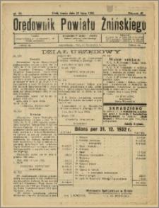 Orędownik Powiatu Żnińskiego 1932 Nr 32