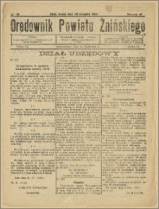 Orędownik Powiatu Żnińskiego 1932 Nr 33