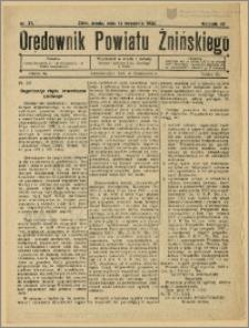Orędownik Powiatu Żnińskiego 1932 Nr 37