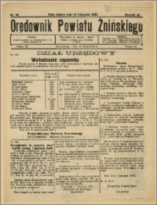 Orędownik Powiatu Żnińskiego 1932 Nr 46