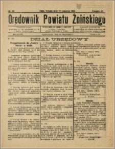 Orędownik Powiatu Żnińskiego 1933 Nr 22