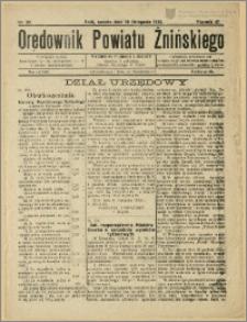 Orędownik Powiatu Żnińskiego 1933 Nr 32