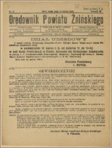 Orędownik Powiatu Żnińskiego 1934 Nr 5