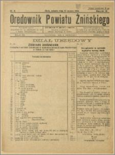 Orędownik Powiatu Żnińskiego 1934 Nr 6