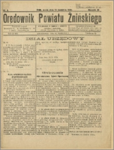 Orędownik Powiatu Żnińskiego 1934 Nr 8