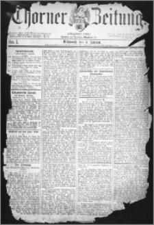 Thorner Zeitung 1877, Nro. 1