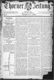 Thorner Zeitung 1877, Nro. 2
