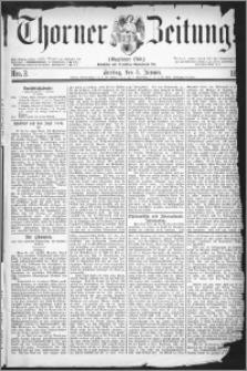 Thorner Zeitung 1877, Nro. 3