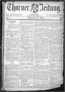 Thorner Zeitung 1877, Nro. 7
