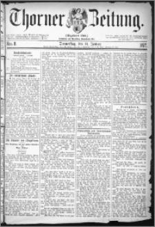Thorner Zeitung 1877, Nro. 8