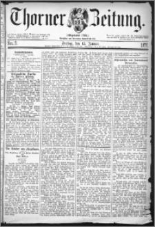 Thorner Zeitung 1877, Nro. 9