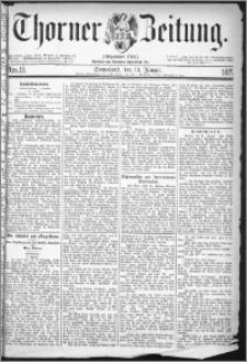 Thorner Zeitung 1877, Nro. 10
