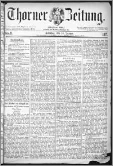 Thorner Zeitung 1877, Nro. 11 + Beilage