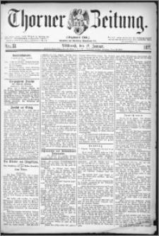 Thorner Zeitung 1877, Nro. 13