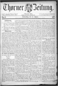 Thorner Zeitung 1877, Nro. 14