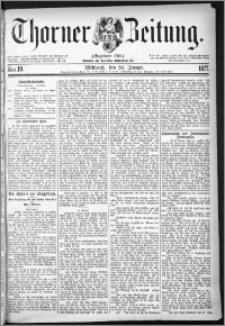 Thorner Zeitung 1877, Nro. 19