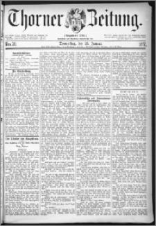 Thorner Zeitung 1877, Nro. 20