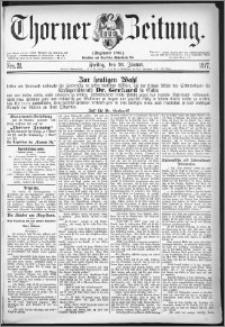 Thorner Zeitung 1877, Nro. 21